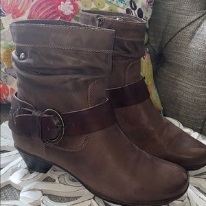 PIKOLINOS Shoes - Pikolinos Leather Brujus Slouch Boots Women's 37